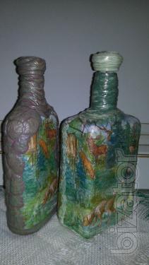 "Decorative bottle ""Hunter """