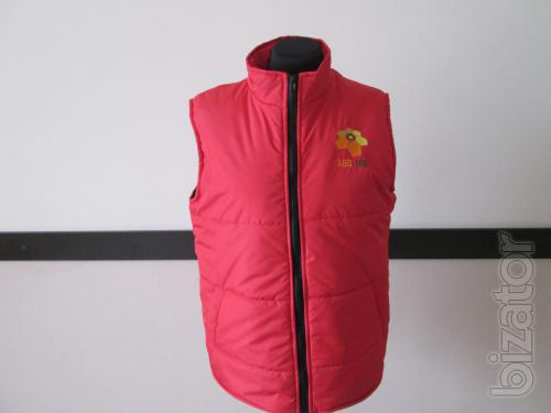 Vest insulated assorted colors