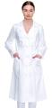 Bathrobe white medical