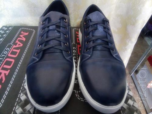 Men's leather shoes sneakers Madoks Discount!40,41,42,43,44,45 R.