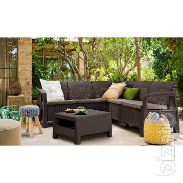 Garden furniture Set Corfu Relax Allibert rattan, Keter
