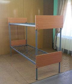 Bed 2-tiered, the back is chipboard, 190х70