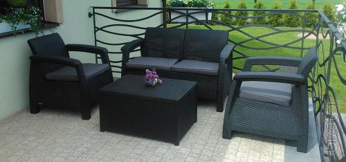 Garden furniture Corfu Box Set Allibert rattan, Keter