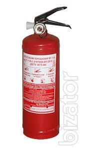 Powder fire extinguisher OP-2 (h)