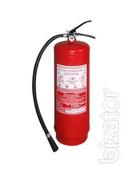 Powder fire extinguisher OP-6