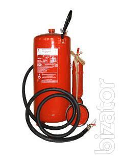 Powder fire extinguisher OP-100, VP-90