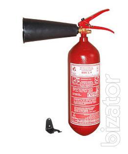 The fire extinguisher uglekislotnyj OU-2, IHC-1,4