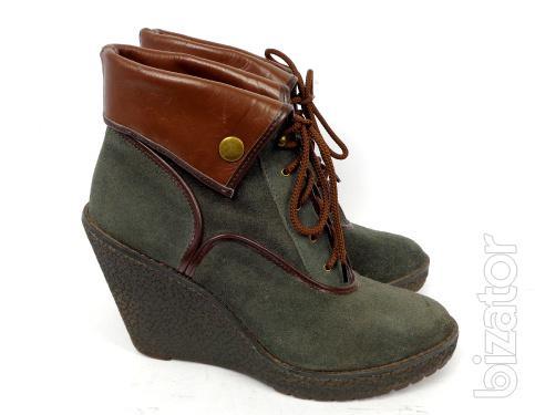 Boots botilony suede wedges Colin Stuart (F - 012) 41 – 41.5 size