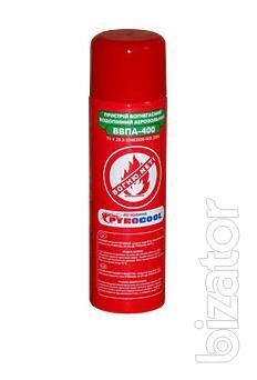 The fire extinguisher spray, WPA-400