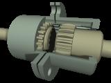 Clutch gear 295-27СБ