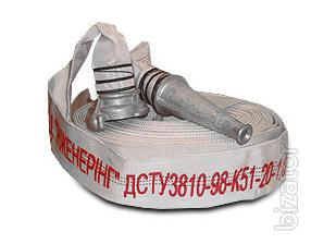Fire hose with the nut and the barrel d with 51 mm G-50, РС50.01