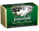 "A packaged black tea Greenfield ""Earl Grey Fantasy"" 25 Bergamot"