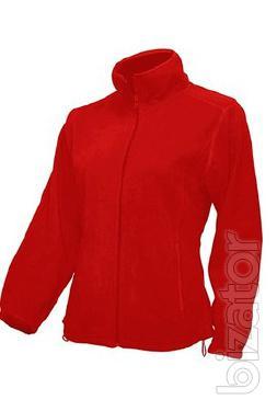 Womens fleece jacket with zip
