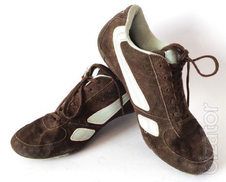 Sneakers suede women's cross country L. A. Gear (LCD - 001) size 41
