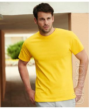 T-shirts of different colors and sizes wholesale