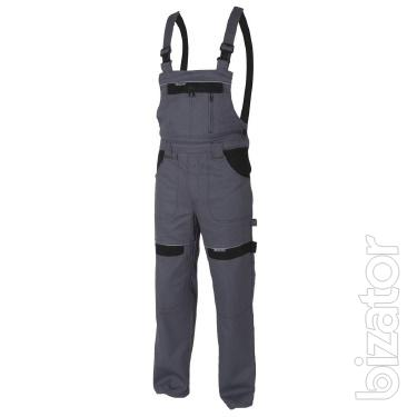 Overalls for workers in the range