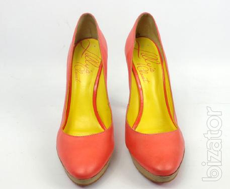 Shoes branded leather Lilly's Closet (at – 001) size 41