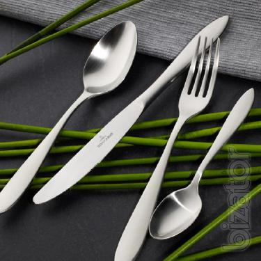 Designer Cutlery set for 12 persons from Villeroy & Boch