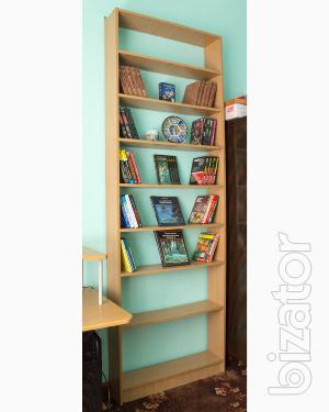 Sell wardrobe, book - shelf bookcases, roomy shelving for books.