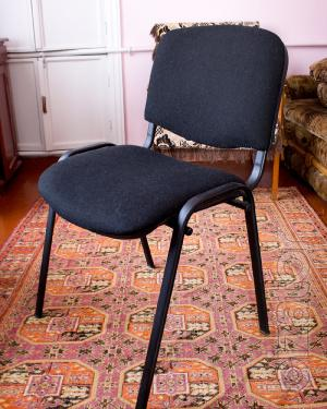 Sell office chair metal, black ISO (ISO) b/a