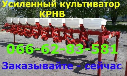 Reinforced cultivator with fertilizer system krnv 5.6 / 4.2