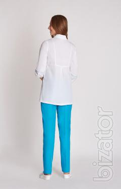 Women's medical costume flora