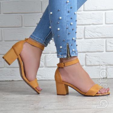 Women's sandals heel 4 colors
