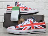 Sneakers Converse All Star Chuck Taylor Union with the British flag