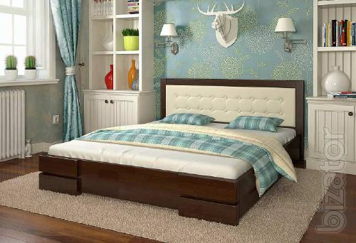 Orthopaedic and anatomic mattresses and beds from wood.