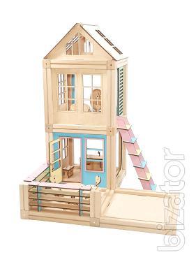 Wooden designer magnetic Woodyco. Set Medium