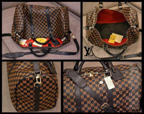 Bag travel bag Louis Vuitton Louis Vuitton large