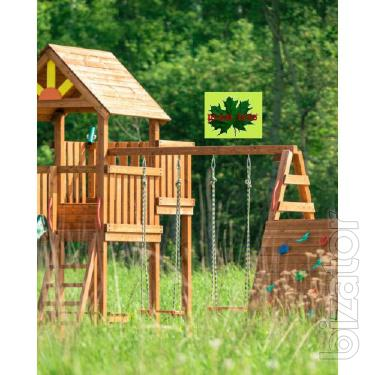 playgrounds wooden
