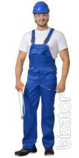 Jumpsuit work for service construction, sales of footwear