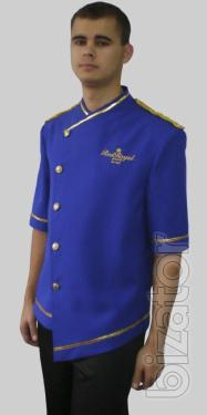 Chef's jacket, chef jacket, chef clothing