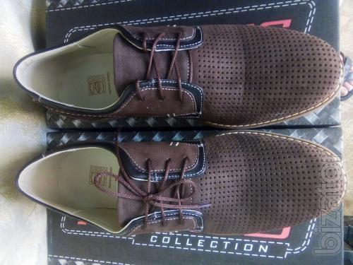 Summer men's casual shoes brown nubuck Madoks 40,41,42,43,44,45 R.
