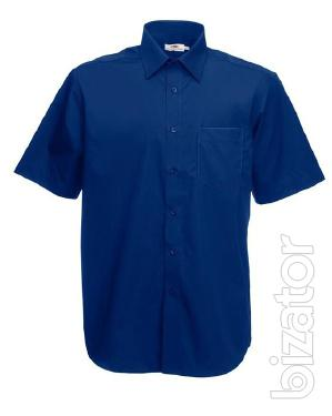 Shirt mens short sleeve Fruit Of The Loom