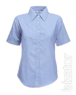 Women's shirt with short sleeve