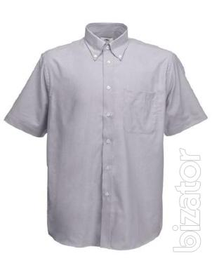 Men's shirt short sleeve Fruit Of The Loom 70% cotton