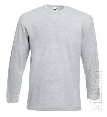 Men's t-shirt long sleeve Fruit Of The Loom