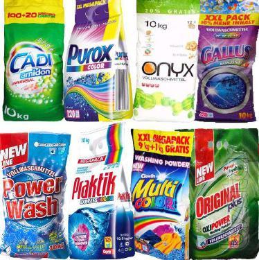 Washing powder 10kg Gallus 125 washings and other powders EU