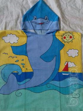 Poncho towels for kids