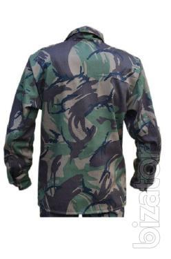 Suit camouflage, British