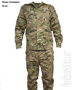 Suit camouflage, Cartoons. Suit for fishermen, hunters