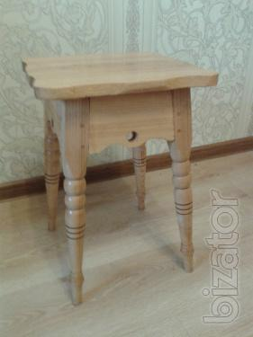 Sell set of 4pcs. carved stools
