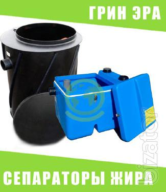 Grease separator, grease trap for domestic and industrial