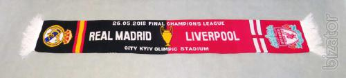 "Scarf Champions League Kiev 2018, ""The Real Liverpool"""