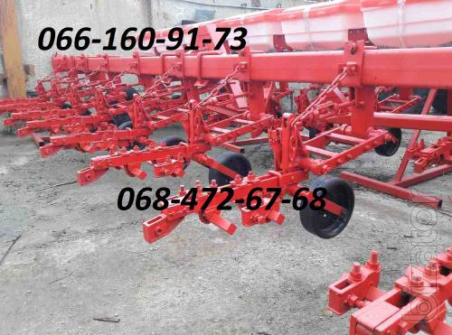 Hack Krn-5.6, 4.2 Cultivator, Reinforced sections of the LCC