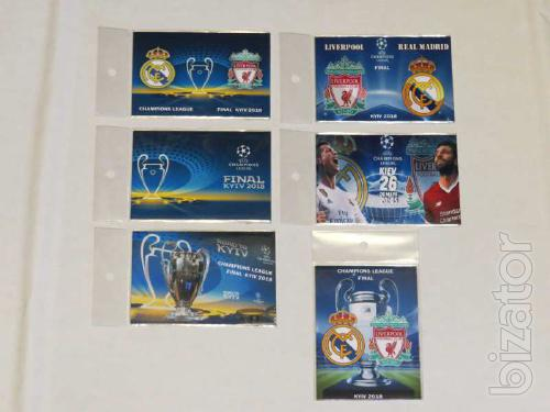 Magnet Champions League final in 2018, real Madrid-Liverpool
