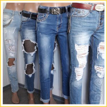 Women's jeans! The most fashionable colors and patterns!