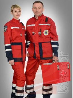 Suit ambulance men, demi